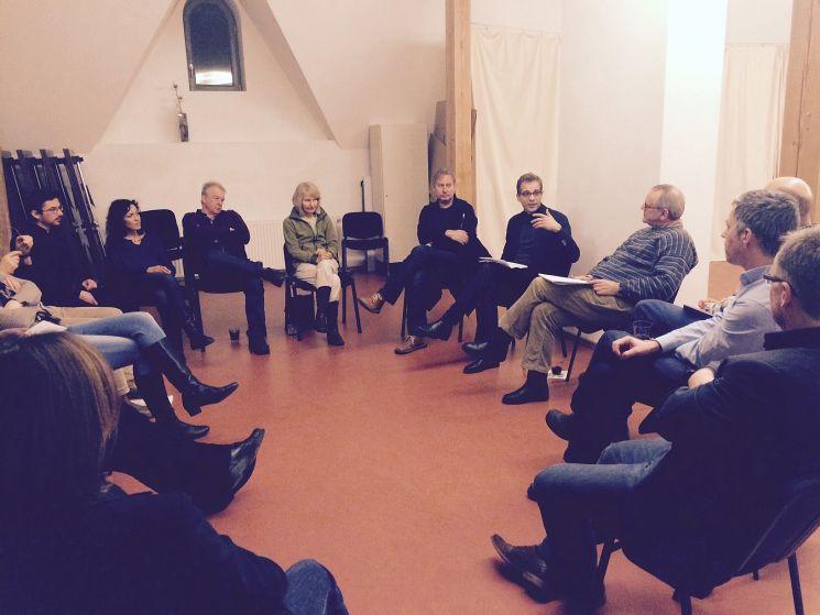 Der erste Salon der Zweiten Aufklärung im Jahr 2015 fand im Kulturzentrum Danziger 50 statt.