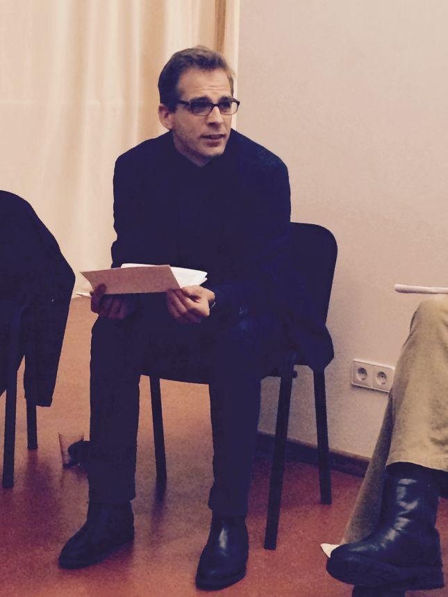 Stefan Liebich referierte, reagierte aber auch sehr offen aus Anregungen aus der Runde.