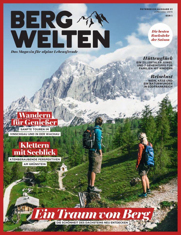 Das Bergwelten-Magazin von Red Bull findet man online, in variierter Fassung verkauft es auch als Printprodukt.