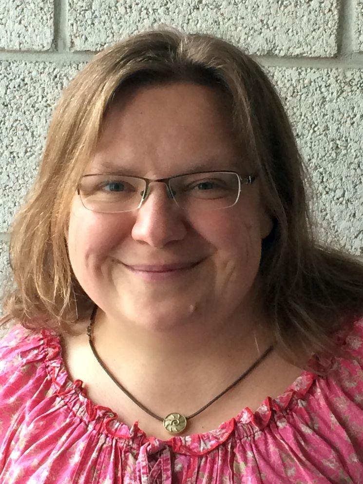 Rita Vock ist eine echte Newslady: Schon ihre Diplomarbeit schrieb sie über Nachrichtenwerte. Foto: Frühbrodt