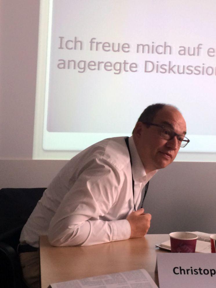 Christoph Hardt hat nichts dagegen, wenn die Medien die Texte des GDV übernehmen.