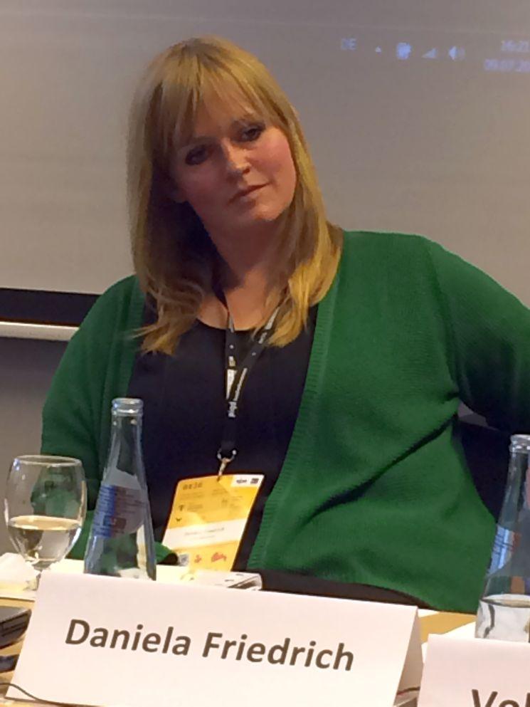 Kritisiert unbezahlte Praktika im Journalismus: Medienstudentin Daniela Friedrich