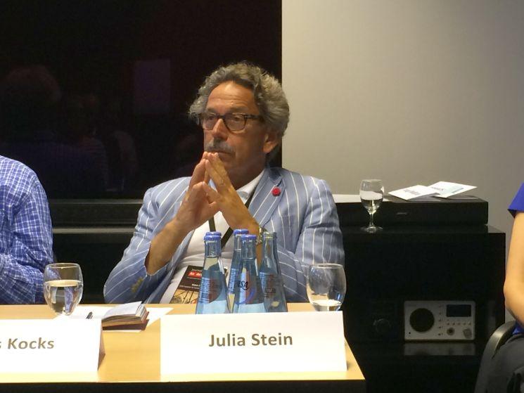 """""""Journalisten können nicht gewerkschaftliche denken"""", ist Klaus Kocks überzeugt."""