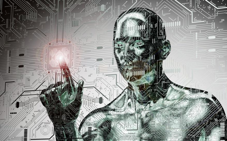 Unter künstlicher Intelligenz sind nicht nur humanoide Roboter zu verstehen, sondern auch selbstlernfähige Softwareprogramme. Foto: The_Lightwriter/Fotolia